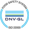 Our organization is certified ISO 9001 - ISO 14001 - OHSAS 18001 - ISO 22000 ensuring to our customers and partners the excellence of our management systems