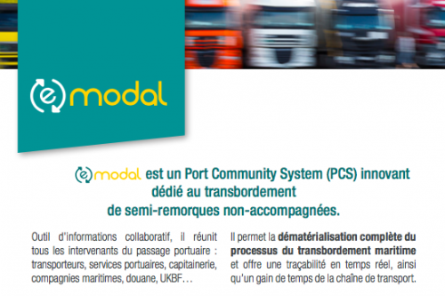 Modernization of the management of the traffic of unaccompanied trailers