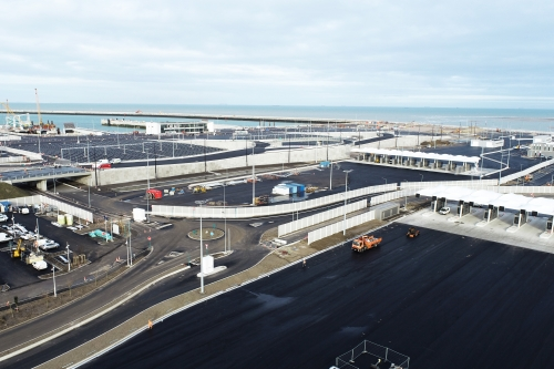 New port of Calais : commissioning in the fall
