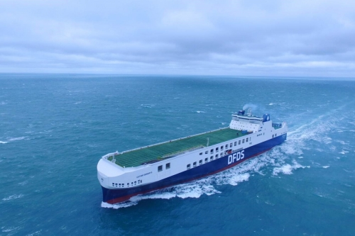 DFDS LAUNCHES NEW UNACCOMPANIED FREIGHT SERVICE FROM SHEERNESS TO CALAIS