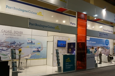 The Port Boulogne Calais at the Logitrans exhibition in Istanbul.