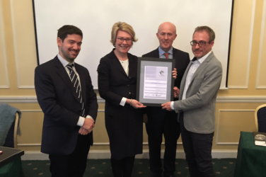 The Port Boulogne Calais awarded the PERS ECOPORTS seal of approval once again