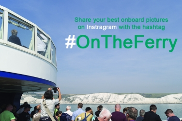 Join the « #OnTheFerry » contest on Instagram and try to win an instant camera !