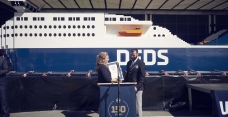 The port of Calais welcomes the world's largest LEGO ship