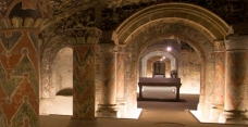 The crypt of Boulogne sur Mer